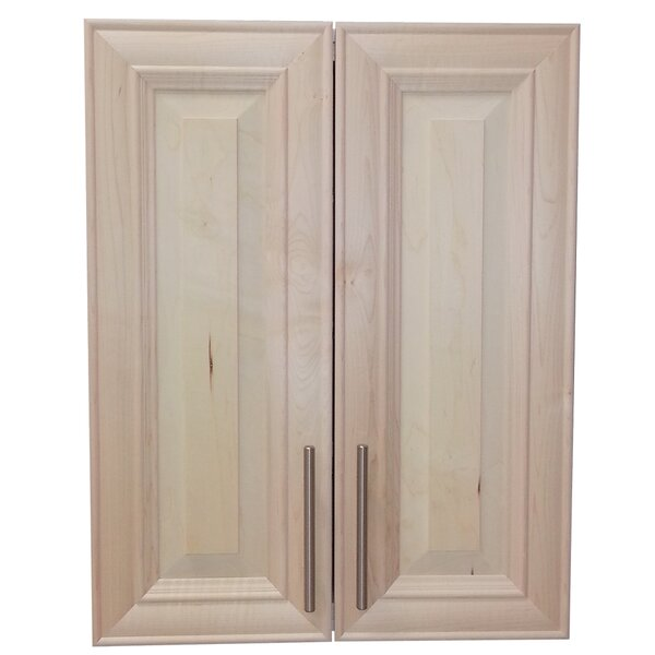 Overton 21 W x 32 H Recessed Cabinet by WG Wood Products