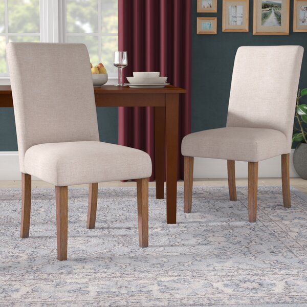Tenorio Parson Chair (Set of 2) by Charlton Home