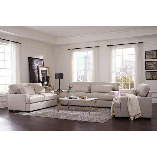 Keturah 3 Piece Living Room Set by Latitude Run