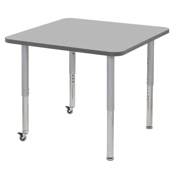 Contour Thermo-Fused Adjustable 36 Square Activity Table by ECR4kids