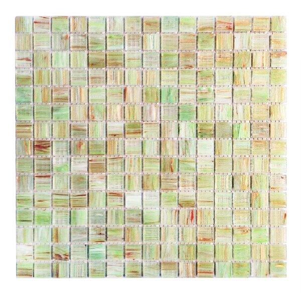 Bon Appetit 0.75 x 0.75 Glass Mosaic Tile in Light Green by Abolos