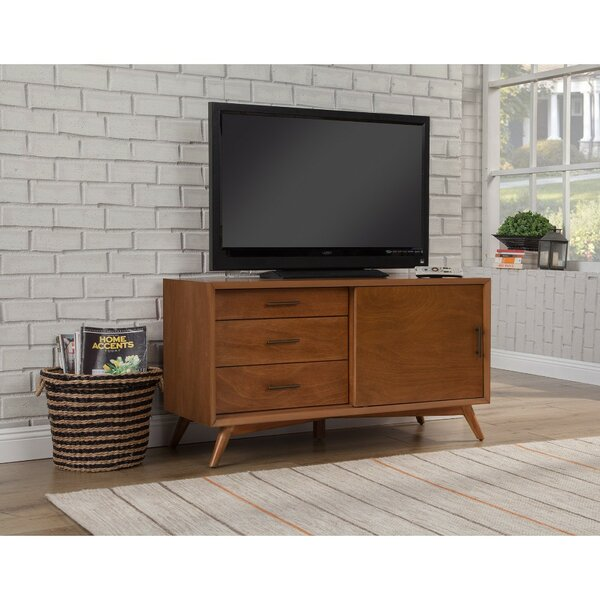 Hancock Solid Wood TV Stand For TVs Up To 55