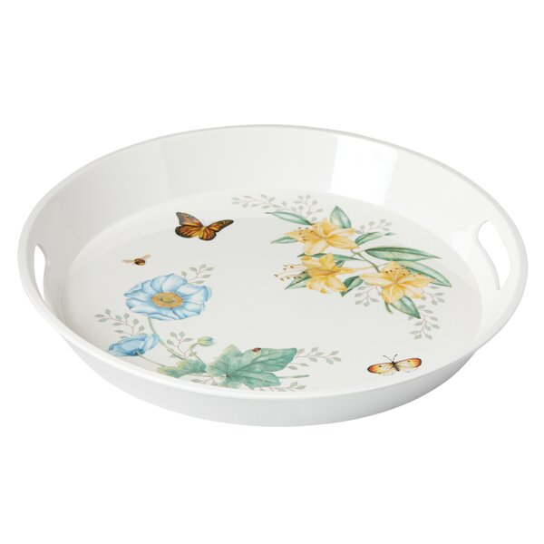 Butterfly Meadow Melamine Serving Tray by Lenox