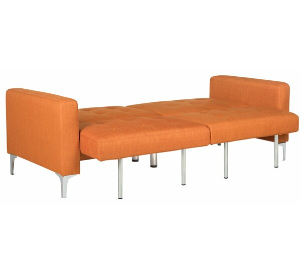 Jayde Foldable Sleeper Sofa by Wade Logan