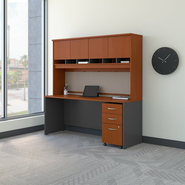 Series C Executive Desk with Hutch