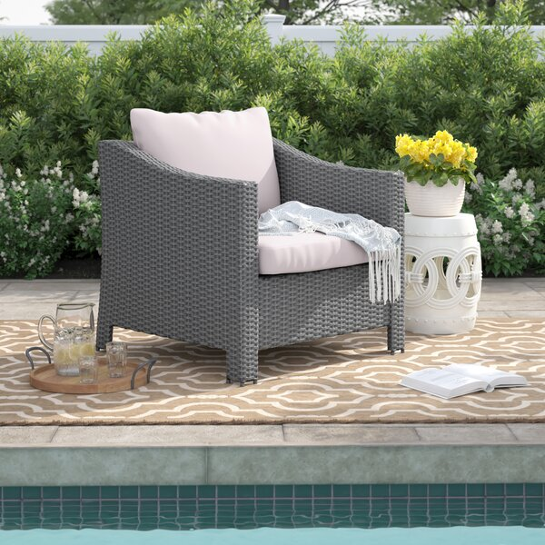 Portola Patio Chair With Cushion (Set Of 2) By Sol 72 Outdoor