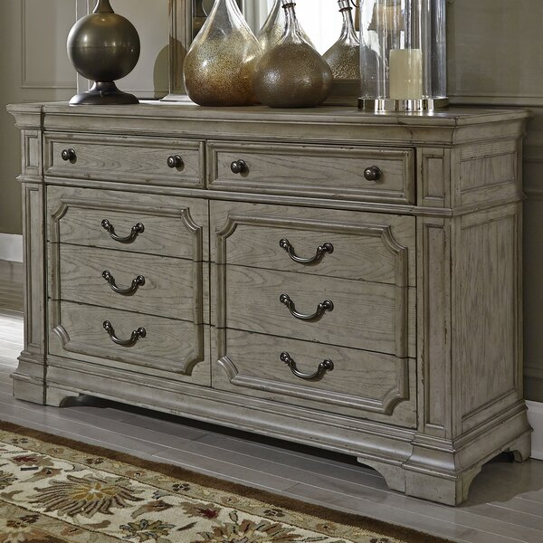 Sunnydale 8 Drawer Double Dresser with Mirror by Canora Grey
