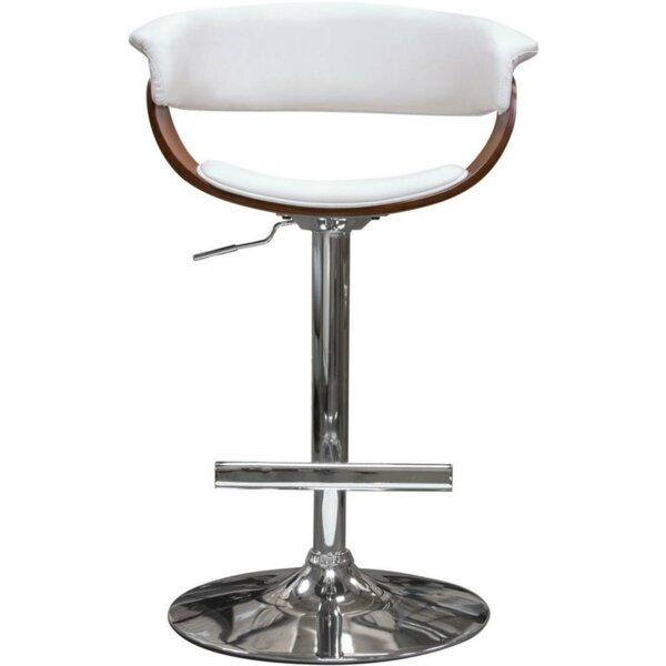 Raeann Adjustable Height Bar Stool by Orren Ellis Orren Ellis