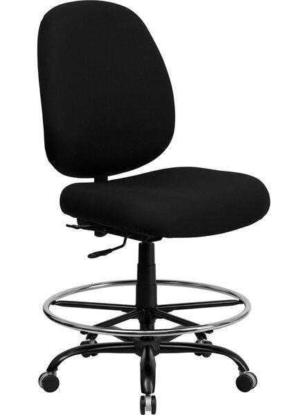 Ash High-Back Drafting Chair by Latitude Run