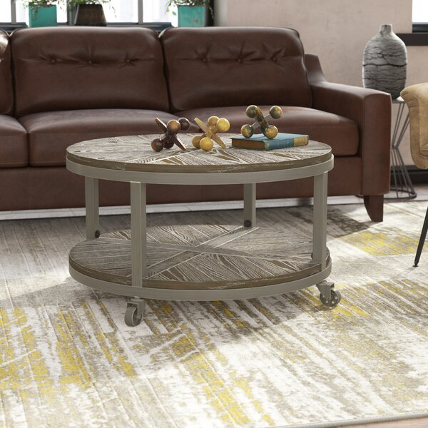 Drossett Wheel Coffee Table With Storage By Trent Austin Design