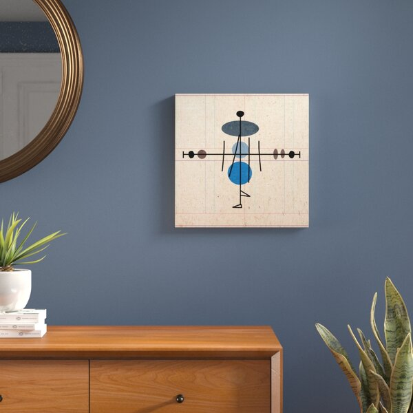 A Line Walk Painting Print on Canvas by Langley Street
