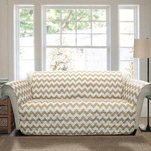 Primey Bright Bold Box Cushion Sofa Slipcover
