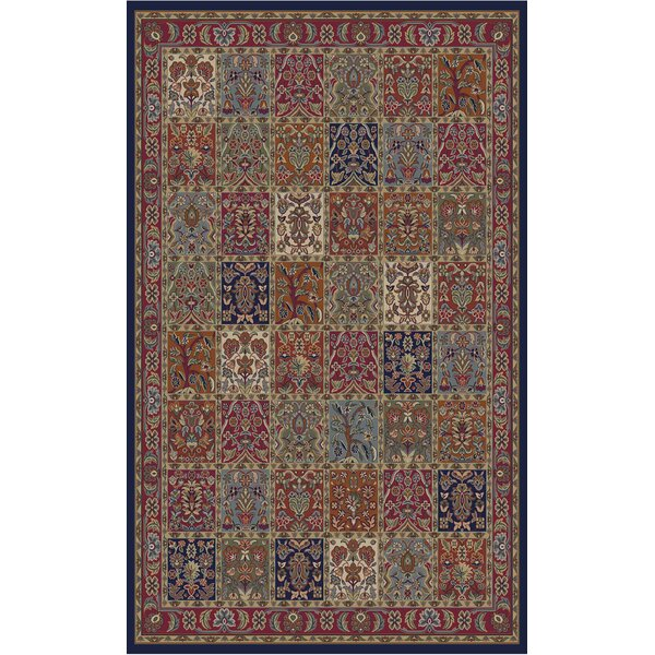 Edmont Jewel Panel Area Rug by World Menagerie