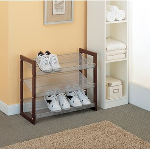 3-Tier Shoe Rack By Organize It All