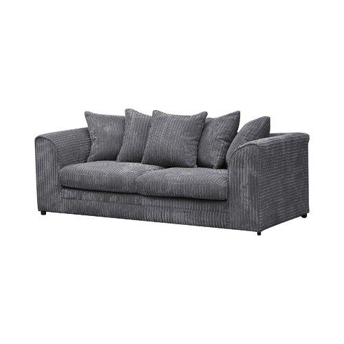 Moana 3 Seater Sofa Zipcode Design Upholstery