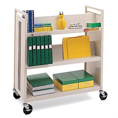 Double-Side Book Cart by Bretford Manufacturing Inc