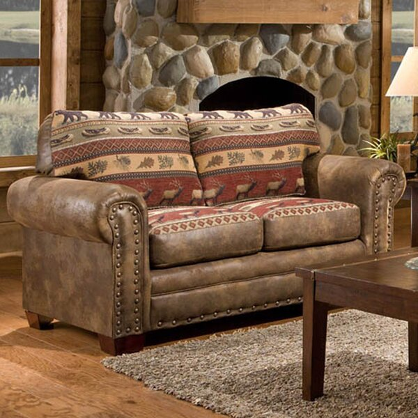 Shop Special Prices In Charlie Loveseat by Millwood Pines by Millwood Pines
