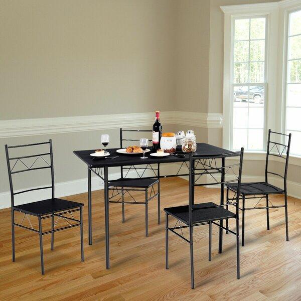 Helfer 5 Piece Breakfast Nook Dining Set by August Grove