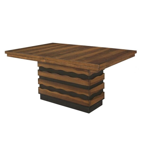 Fostoria Extendable Dining Table by Ivy Bronx