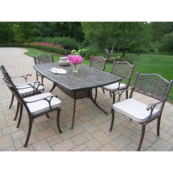 Oxford Mississippi Dining Set with Cushions by Oakland Living