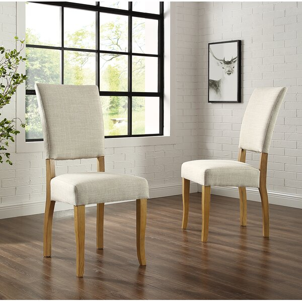 Stephania Upholstered Dining Chair (Set of 2) by Gracie Oaks