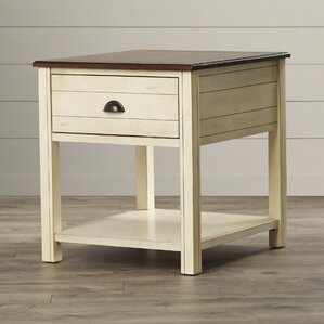 Beachcrest Home Chesapeake End Table With Storage�