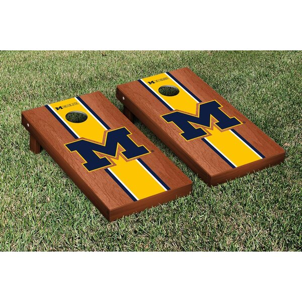Stained Stripe Version Cornhole Game Set by Victory Tailgate
