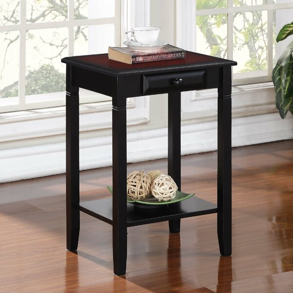 andover mills hilbert end table