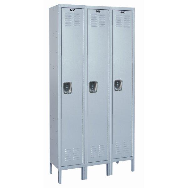 MedSafe 1 Tier 3 Wide School Locker by Hallowell
