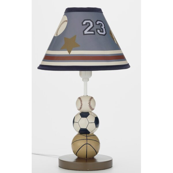 Play Ball Lamp 14.6 Table Lamp Base by NoJo