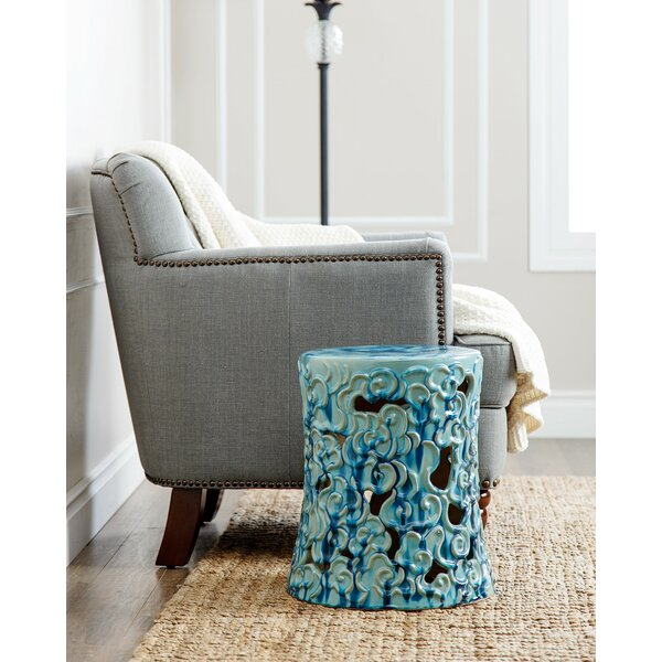 Shivansh Garden Stool by World Menagerie