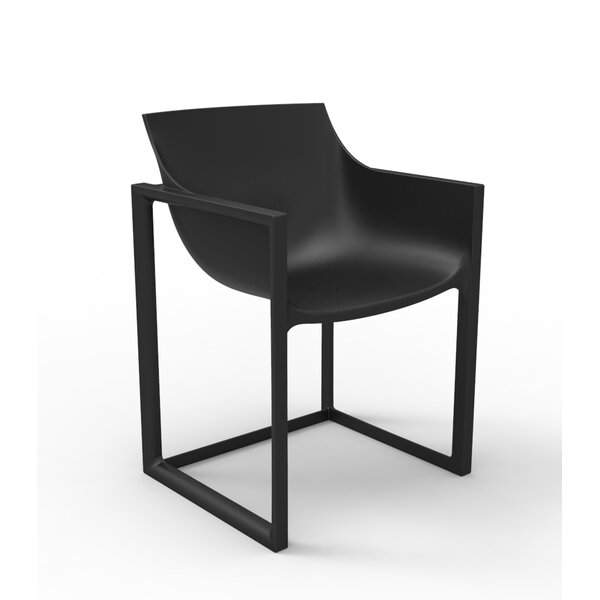 Wall Street Patio Dining Chair (Set of 2) by Vondom