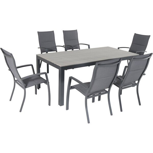Baywood 7 Piece Dining Set by Latitude Run