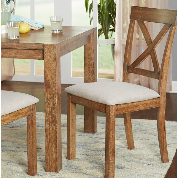 Dessie Upholstered Dining Chair (Set of 2) by Gracie Oaks