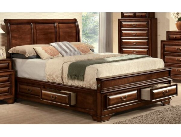 Crumley Storage Platform Bed by Darby Home Co