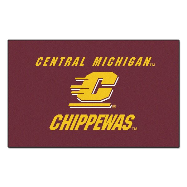 NCAA Central Michigan University Ulti-Mat by FANMATS