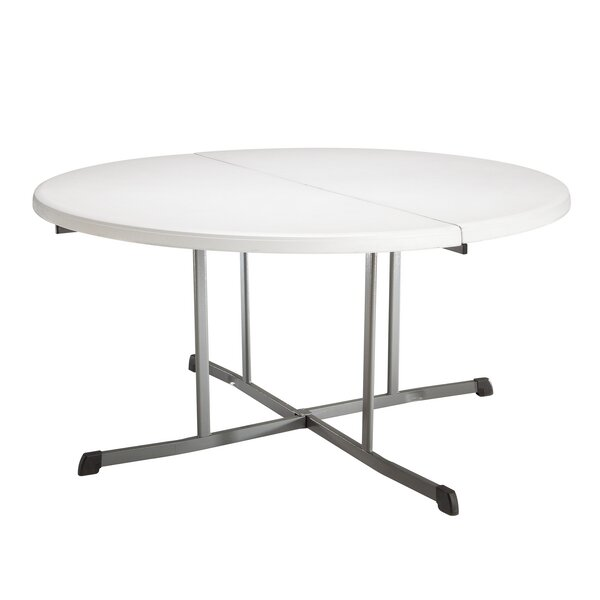 60 Round Folding Table by Lifetime