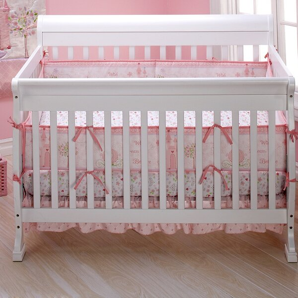 Princess Happily Ever After 3 Piece Crib Bedding S