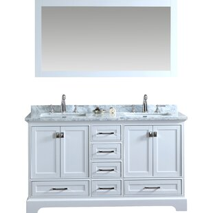 Double Sink Bathroom Cabinets. Save to Idea Board  Gray White Stian Double Sink Bathroom Vanities Joss Main
