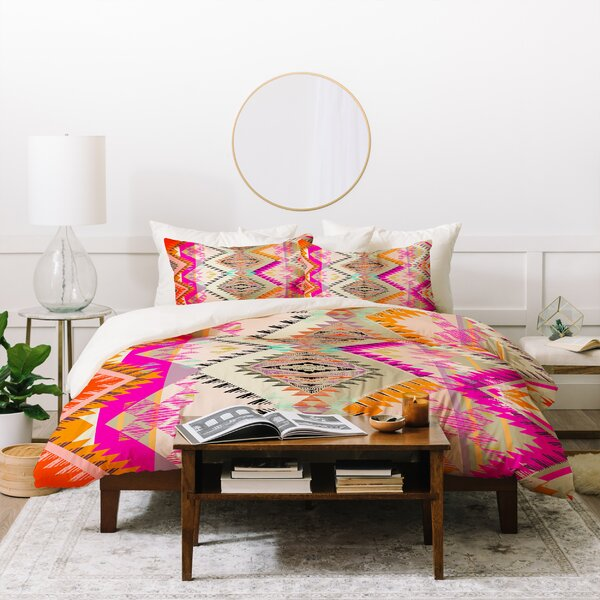 Pattern State Marker Southern Sun Bed Duvet Cover