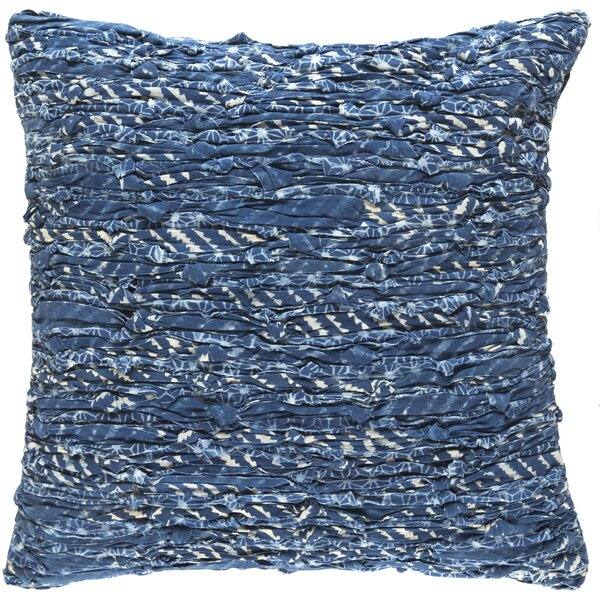 Halle Cotton Lumbar Pillow by Bungalow Rose