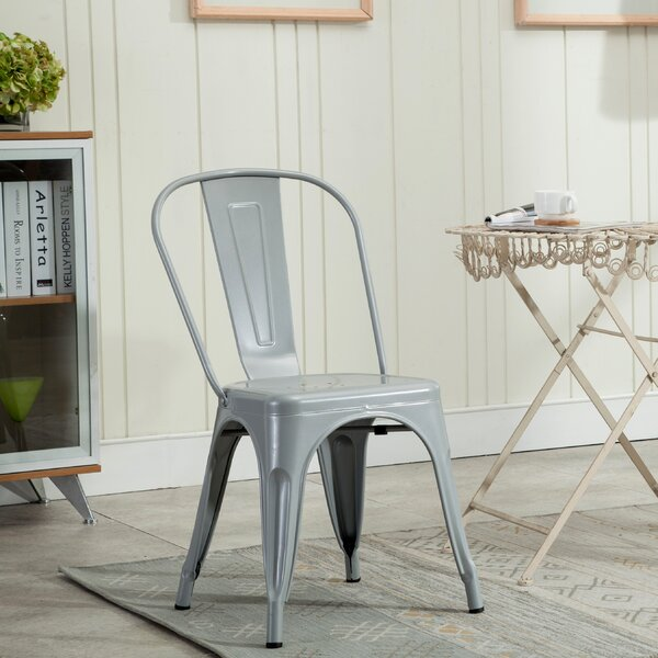Gina Stacking Patio Dining Chair by Trent Austin Design