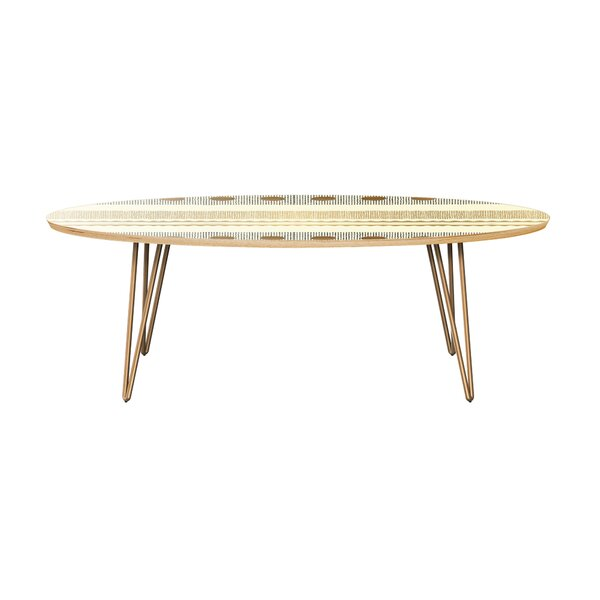 Hubler Coffee Table by Bungalow Rose