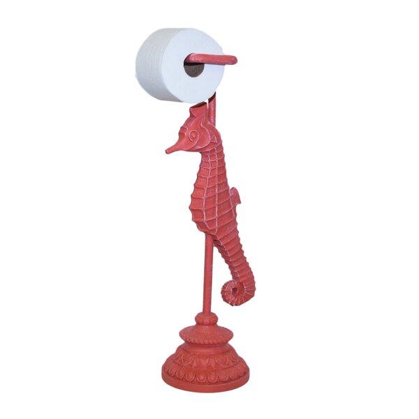 Sea Horse Freestanding Toilet Paper Holder