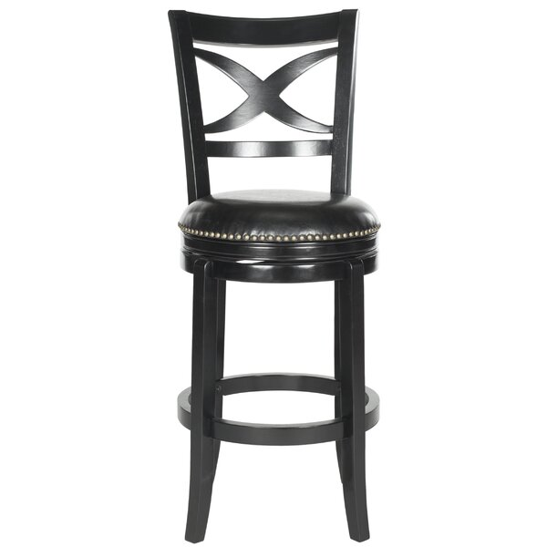 Santino 29 Swivel Bar Stool by Safavieh