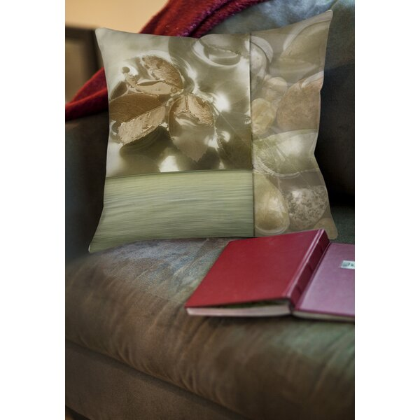 Natural Elements 1 Printed Throw Pillow by Manual Woodworkers & Weavers
