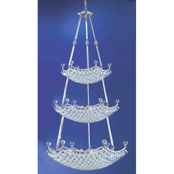 Solitaire 57-Light Chandelier by Classic Lighting