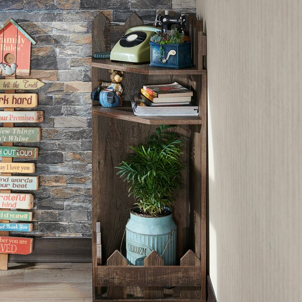 Foust Corner Bookcase By Gracie Oaks
