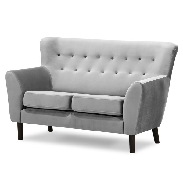 Cammack Flared Arms Loveseat by Brayden Studio