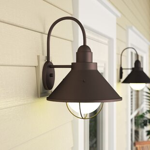 Affordable Castro 1-Light Outdoor Barn Light By Longshore Tides